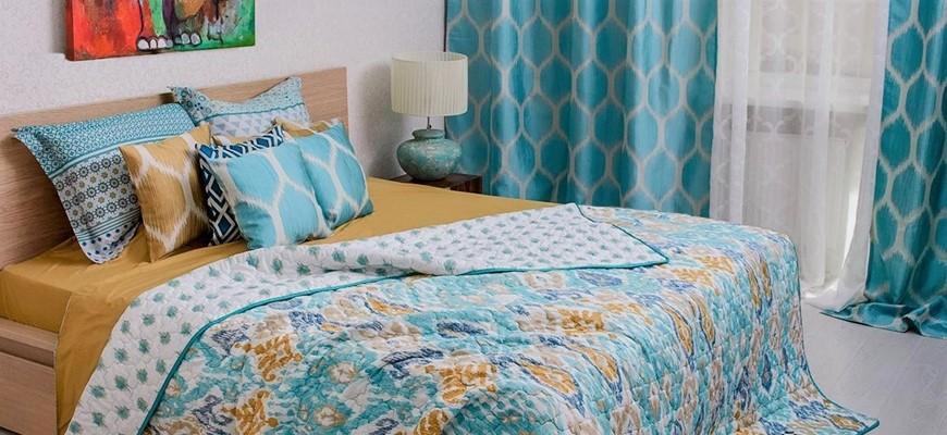 Большой выбор текстиля для спальни, детской и гостиной
